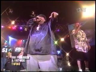 Big Pun, Fat Joe TS - Twins, Off The Books, You Came Up Glamor Life (LIVE) 1998
