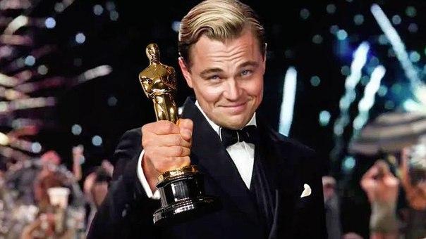 """Лео!!!! Шестая номинация!! И первый """"Оскар"""" за главную роль в фильме """"Выживший"""""""