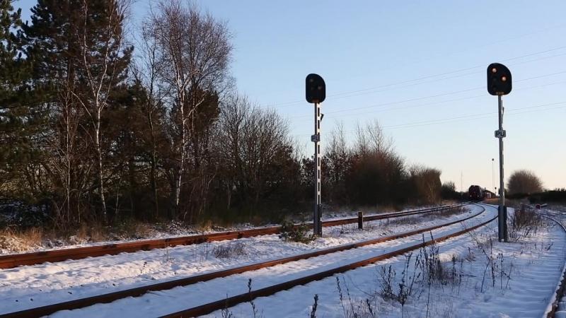 DB RSC MZ 1449 og DB 232 583-5 i tonder - Ludmilla und MZ in Tonder