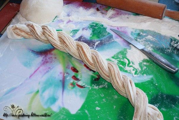 Плетенка с корицей