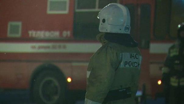 В станице Кардоникской сгорела крыша частного домовладения