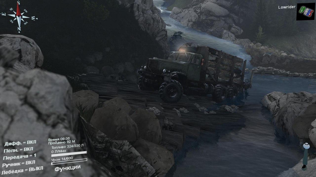 """Карта """"Level_19rus"""" для 25.12.15 для Spintires - Скриншот 3"""