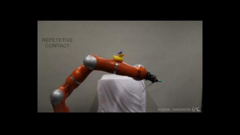 Artificial Robot Nervous System to Teach Robots How to Feel Pain
