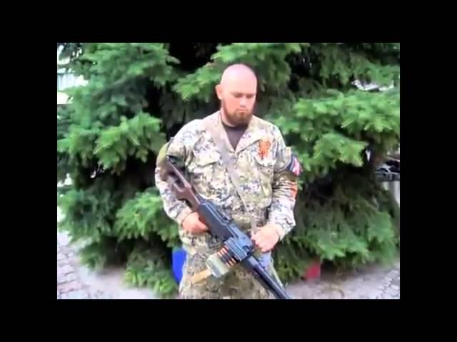Славянск 22 06 2014 Боец КИРПИЧ сбил самолет из пулемета Украина Новости Сегодня 22 и ...