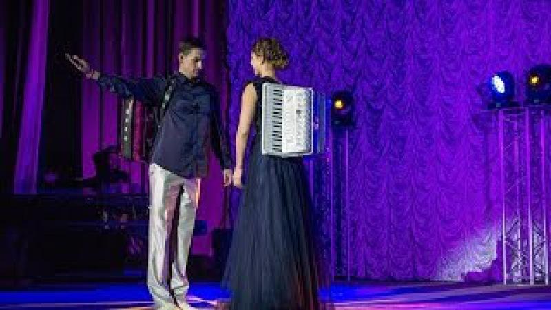 Друзья, такого вы точно еще не видели!! Felicita А.Поелуев-А.Крышталёва accordion