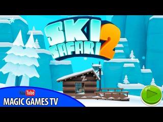 Ski Safari 2 | Играем в СКИ САФАРИ 2 (iPad Gameplay Video)