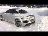 Audi TT quattro. Winter.