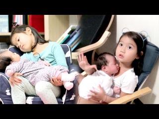 태린, 엄마 뺨치는 감동적 '육아 실력' @오! 마이 베이비 20151219