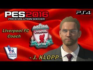Юрген Клопп в PES 2016 на платформе PS4