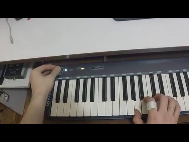 Обзор миди клавиатуры AxelVox KEY 49 j