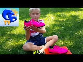 ⚽ Купили Бутсы (сороконожки) Найк Меркуриал, обзор Fotball Boot Nike JR Mercurial review