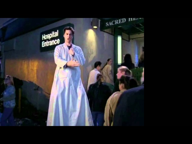 Scrubs - JD and Turk playing giant doctor