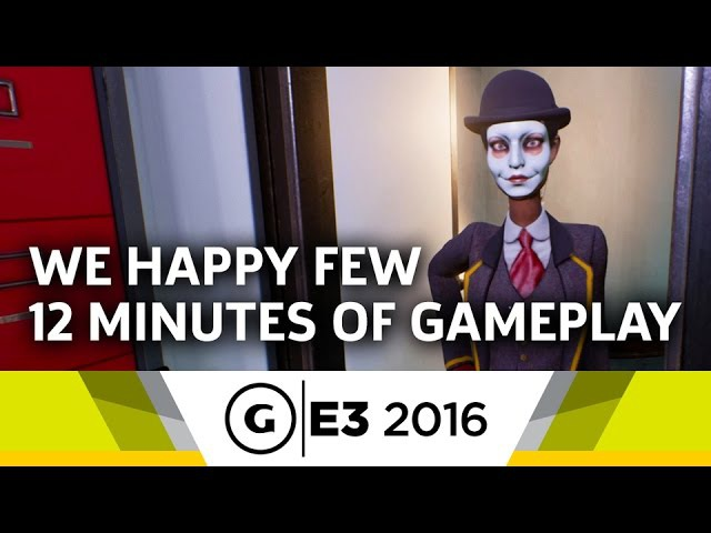 12 Minutes of We Happy Few Gameplay at E3 2016