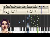 Lana del Rey - Young and Beautiful - Advanced Piano Tutorial (arr Hugo Sellerberg)