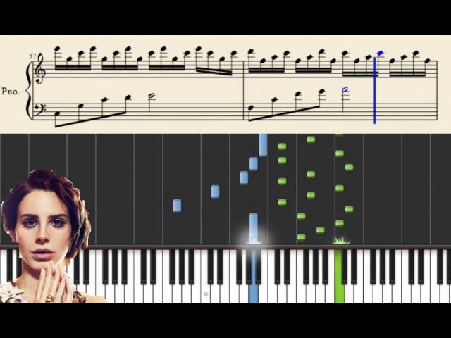 Lana del Rey - Young and Beautiful - Advanced Piano Tutorial (arr: Hugo Sellerberg)