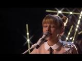12-летняя девочка с укулеле потрясно поет песню