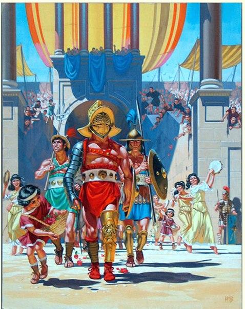 ДР. Гладиаторы Древнего Рима