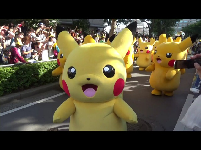 Pokemon PiKachu Parade, Pikachu Mass Generation