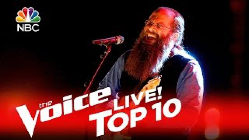 The Voice 2016 Laith Al Saadi Top 10 The Thrill Is Gone