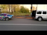 Gelandewagen vs Toyota Supra