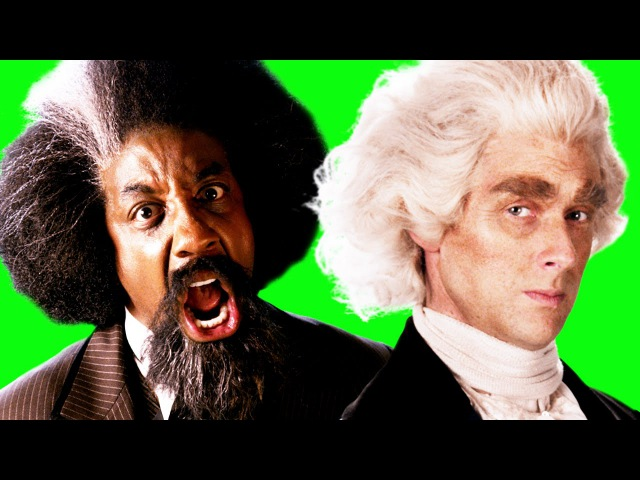 Frederick Douglass vs Thomas Jefferson. Behind the Scenes of Epic Rap Battles of History