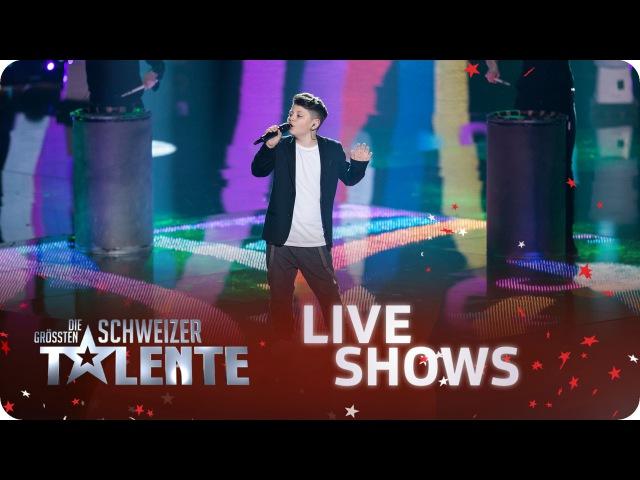 Showact: Drums2Street, JanYannyna und Flavio Rizzello – 1. Halbfinale – srfdgst