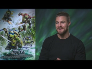 Stephen Amell on Megan Fox, edible ooze and his wife's TMNT-themed birthday party