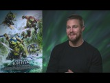Stephen Amell on Megan Fox, edible ooze and his wifes TMNT-themed birthday party
