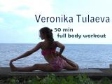 Harmonizing asana set. 50 min full body workout.