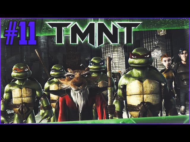 TMNT PSP - Прохождение - Удар по башне Винтерса 11