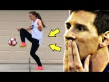 MESSI IS IMPRESSED! | Vine Girls Edition! | #5 | Funny Moments,Fails,Goals | FunChannel | HD