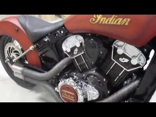 Custom Scout Exhaust by Indian Motorcycles of Winnipeg