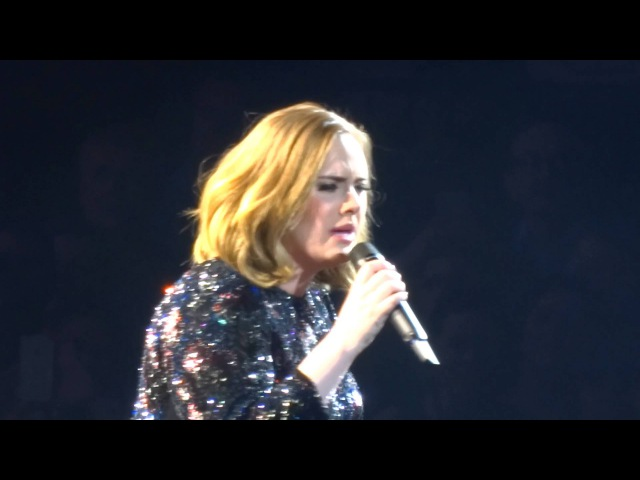 Adele - All I Ask, Birmingham NEC Genting Arena, April 2nd 2016 (sound failure)