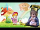 Прогулка с пупсиком на детской площадке Walk with a doll on the playground