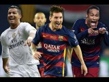 Lionel Messi vs Cristiano Ronaldo vs Neymar | Ballon d'Or 2015 | Year in Review