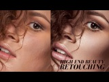 High End Beauty Retouching With Color Harmony
