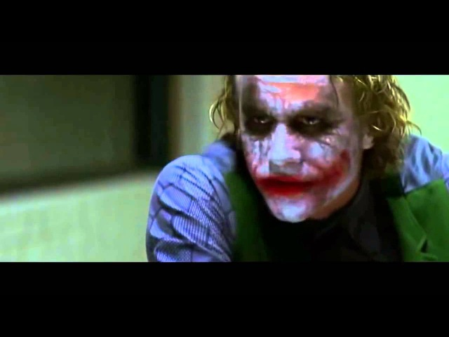 Монолог джокера ,из фильма Бетмен