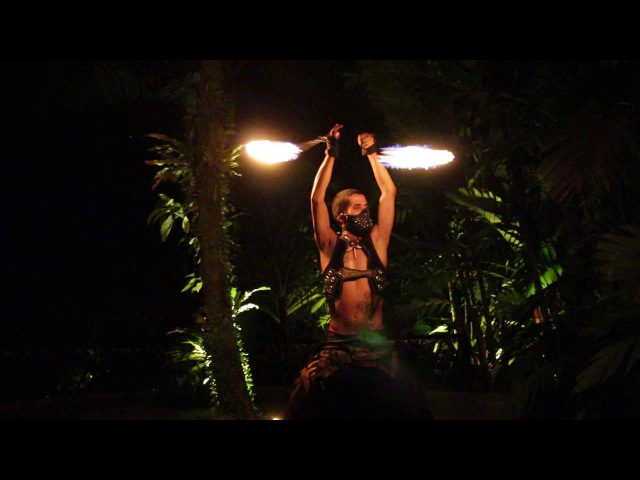 Pyrodanza presents: Narya Elda fire poi live performance