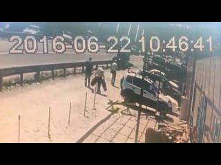 ДТП с грузовиком 22 июня Пятигорск: видео с камер наблюдения