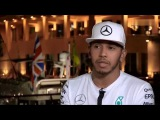 Abu Dhabi GP. Lewis Hamilton on things that need to be changed