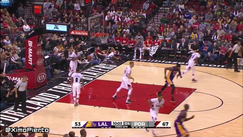 LA Lakers vs Portland Trail Blazers - Full Game Highlights _ January 23, 2016 _ NBA 2015-16 Season