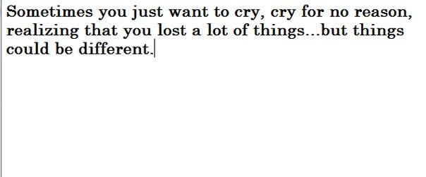 Ответы Mail Ru: Почему хочется плакать без причины?