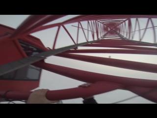 Shanghai Tower (650 meters) - наши в небе!