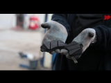Тест тормозных колодок_ горим на работе