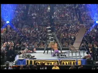02. Edge and Christian Vs. The Hardy Boyz and The Dudley Boyz WrestleMania X-Seven 01.04.01