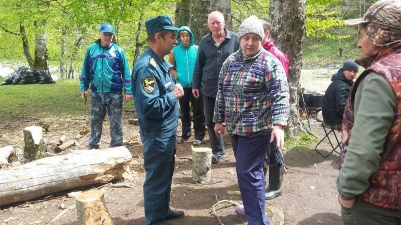 Туристам Зеленчукского района рассказали о безопасном сплаве по реке