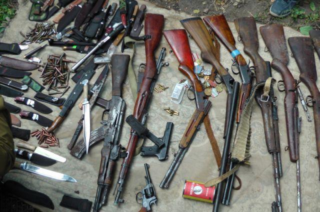 В Зеленчукском районе обезврежена банда торговцев оружием