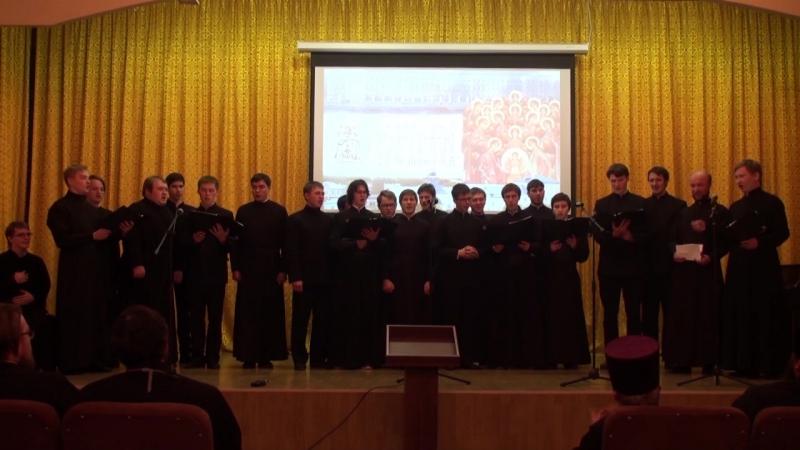 праздничный смешанный хор КазПДС