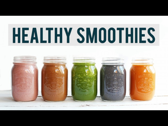 5 Breakfast Smoothie Recipes | EASY HEALTHY