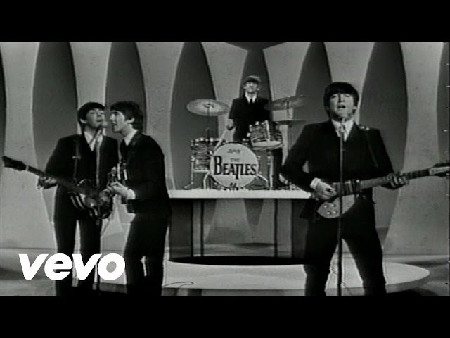 The Beatles - Twist Shout - Performed Live On The Ed Sullivan Show 2/23/64